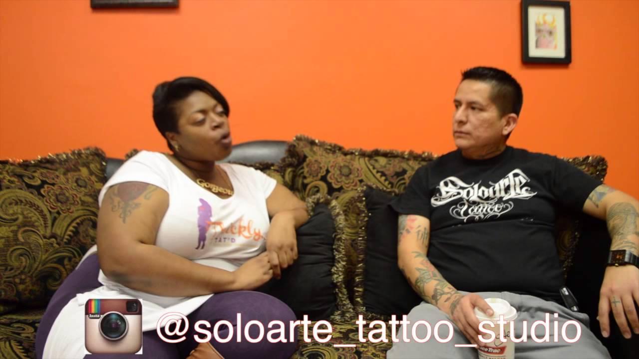 f2a729b2f Thickly Tat'd Tattoo Invasions: Soloarte Tattoo - YouTube