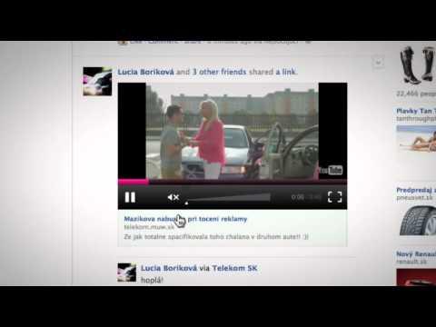 Interaktívny Facebookový Video Player - Telekom Rozumieme Nepočujúcim