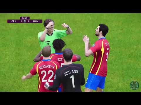 eFootball PES 2021 SEASON UPDATE [ Master League] Gameplay Crystal Palace(2) Vs Manchester United(2) |