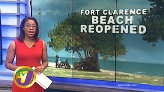 TVJ News: Fort Clarence Beach Park Reopened - December 30 2019