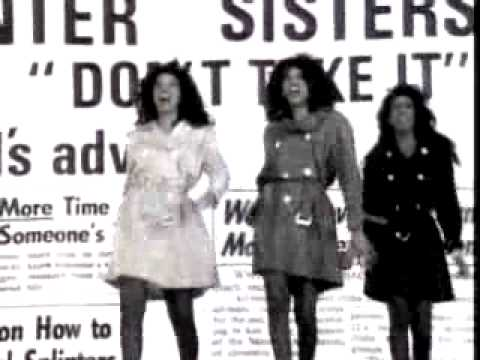 The Pointer Sisters - Friends' Advice (Don't Take It)