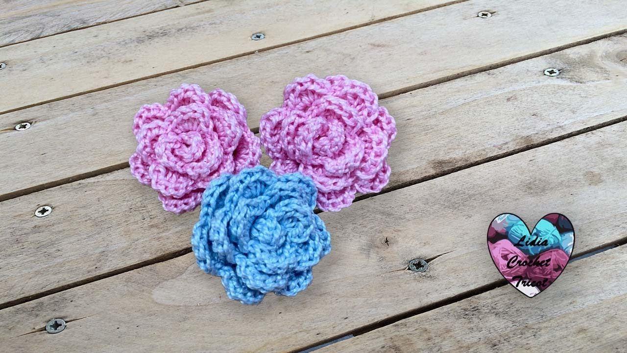 Mini Fleurs Crochet Facile Et Rapide