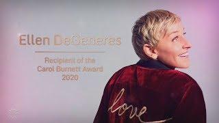 The Golden Globes Honor Ellen's Incredible Career