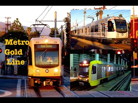 Metro Gold Line - The Best View Point Of The Entire Line