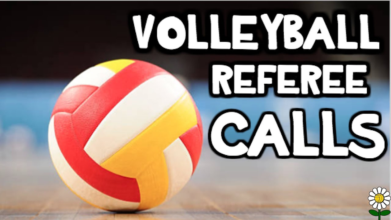 Line Judge Signals Flags Coaching Volleyball Volleyball Flag