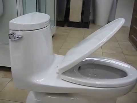 Toto Carlyle II One Piece Toilet 128 GPF Elongated Bowl MS614114CEFG01