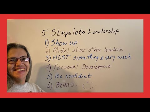 5 Steps Into Leadership thumbnail