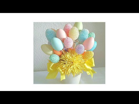 DIY| FOUR EASTER FLORAL CENTERPIECES/ BUDGET FRIENDLY... EAS