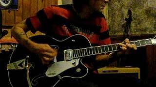 gretsch black phoenix rock n roll guitar fender 59 bassman ltd amp weazeldust solo valve amp