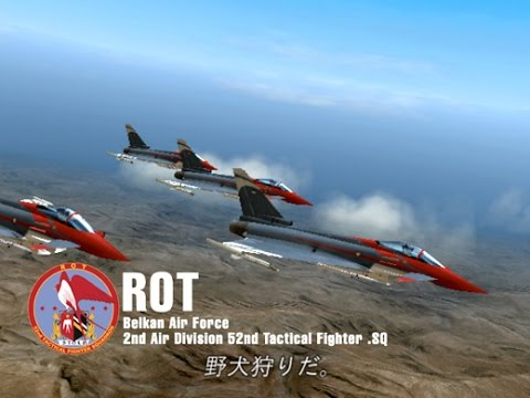 The Round Table Ace Combat.Ace Combat Zero Mission 3 The Round Table Mercenary Style