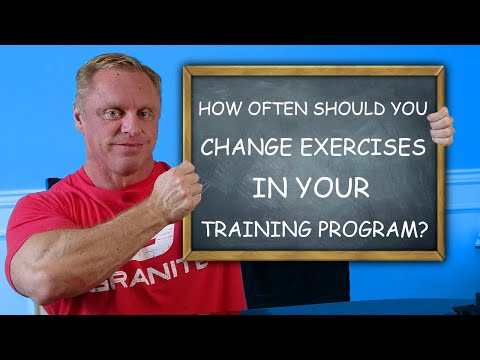 How Often Should You Change Exercises in Your Training Program