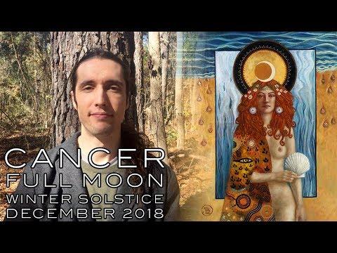 Cancer Full Moon Winter Solstice - December 21st / 22nd 2018