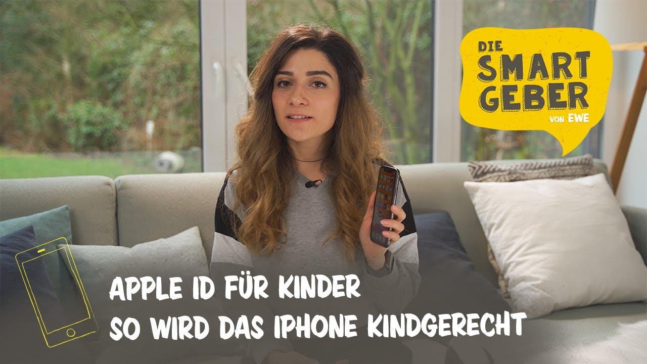 iPhone fürs Kind? So wird's kindersicher!  Apple ID einrichten   In-App-Käufe blocken