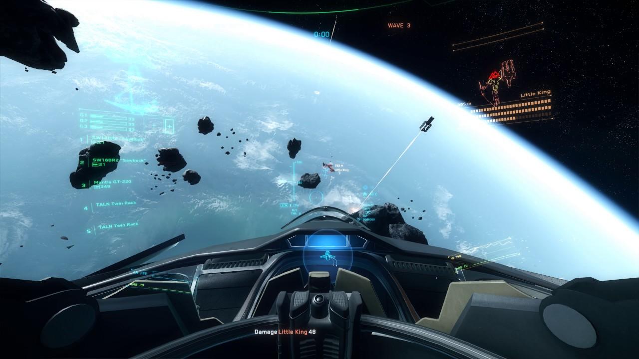 Star Citizen 2 5 - AC Hard Combat Testing 325a 4K UHD