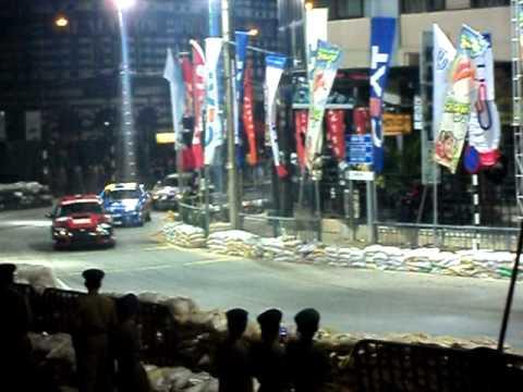 The Evos' & The Subarus'.. The Final Race!!! @ The Colombo Night Races Sri Lanka [18.12.2011]