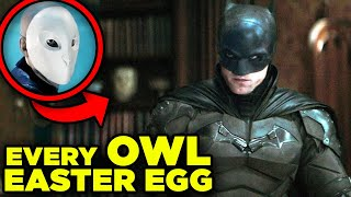 BATMAN Trailer New Easter Eggs You Missed! Court of Owls Conspiracy Revealed!
