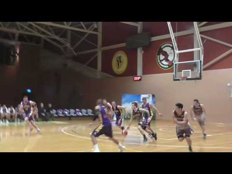 BIG V Basketball Division 2 Men - Craigieburn Eagles vs Altona Gators Highlights 07 May 2016
