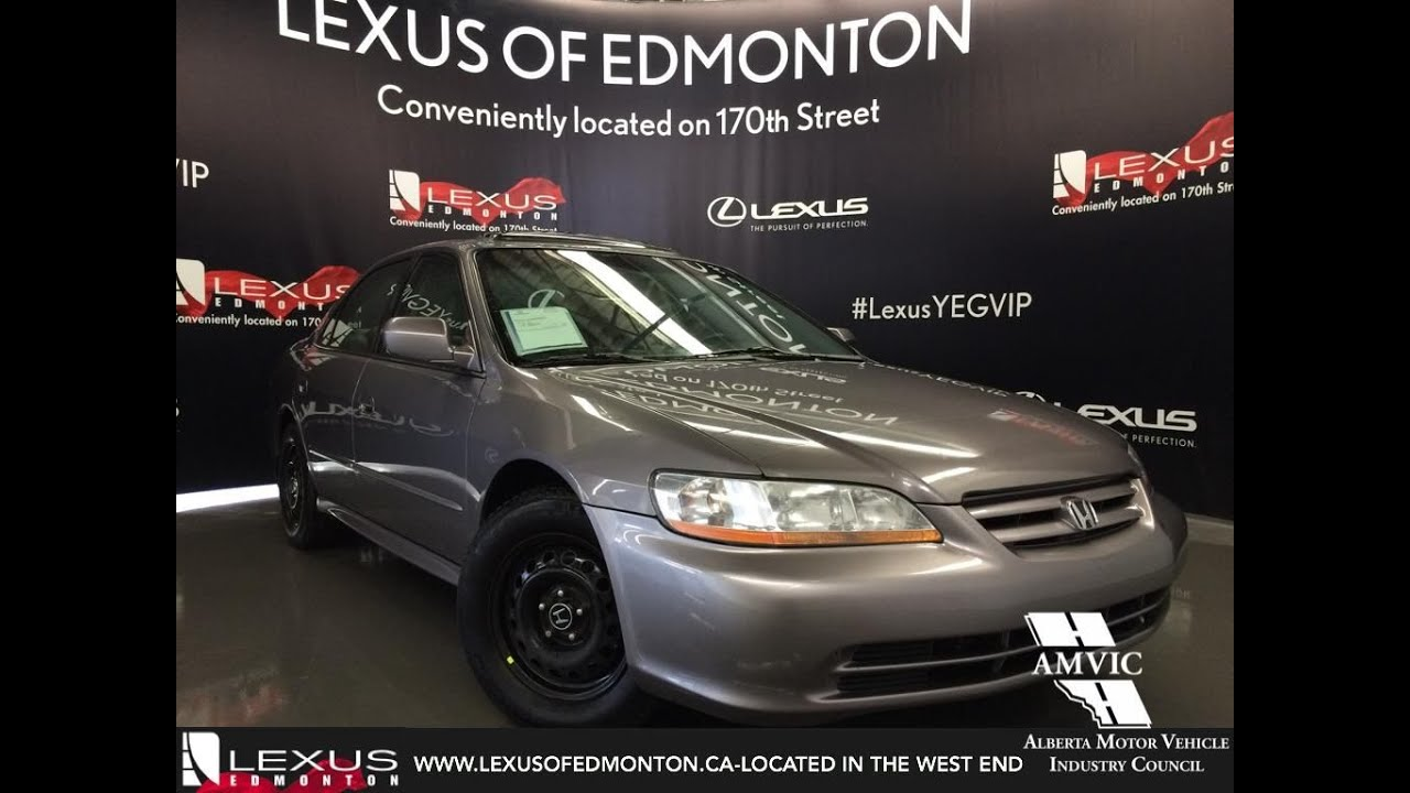 used silver 2001 honda accord ex auto v6 review stettler. Black Bedroom Furniture Sets. Home Design Ideas