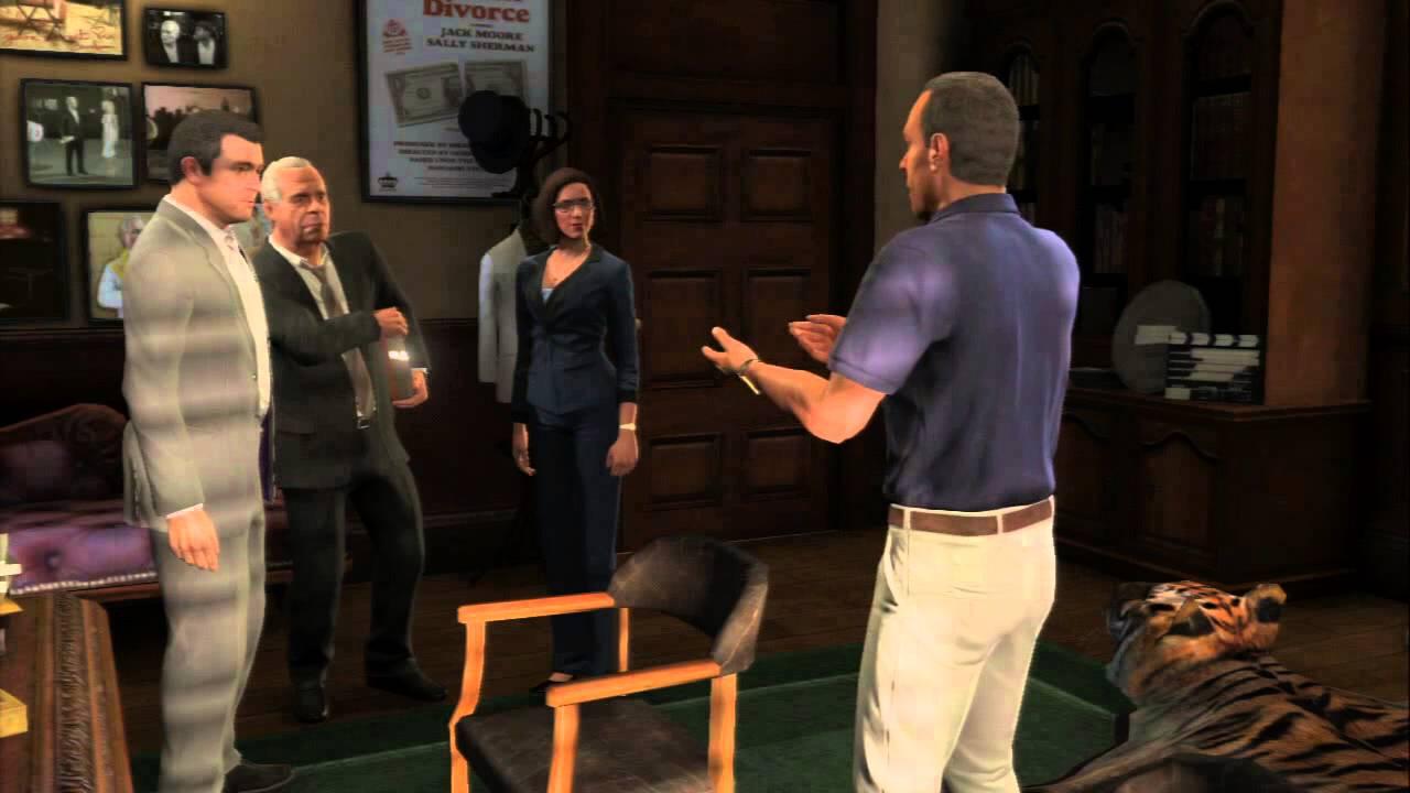 Grand Theft Auto V Legal Trouble Devin Weston Plug Is