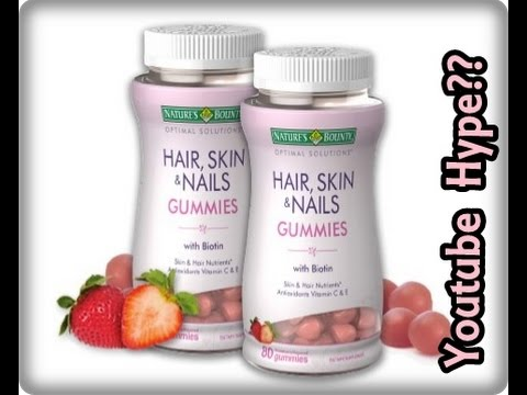 Nature's Bounty Hair, Skin, & Nails Gummies Update   Doovi
