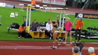 Yelena Isinbayeva New World Record 5.06  @ Zurich Golden League 28.08.09