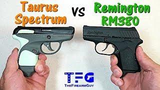 Taurus Spectrum vs Remington RM380 - TheFireArmGuy