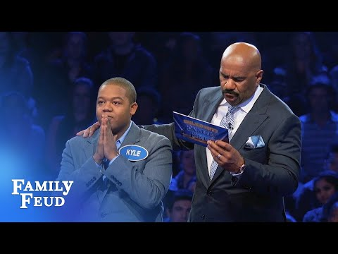 Chris and Kyle Massey goin' for Fast Money!  Celebrity Family Feud