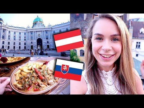 Slovakia & Austria Travel Vlog - Bratislava, Vienna, food & more
