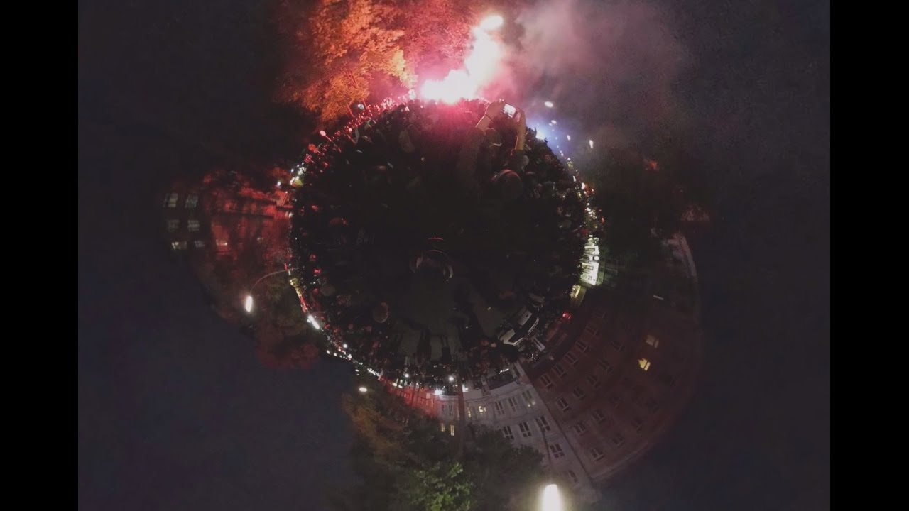 Первомайские митинги 360°: Берлин, Москва, Париж