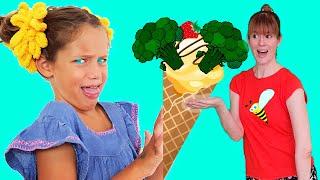 Детская песня про еду от Ба Би Бу - Ты любишь брокколи? Бяка?