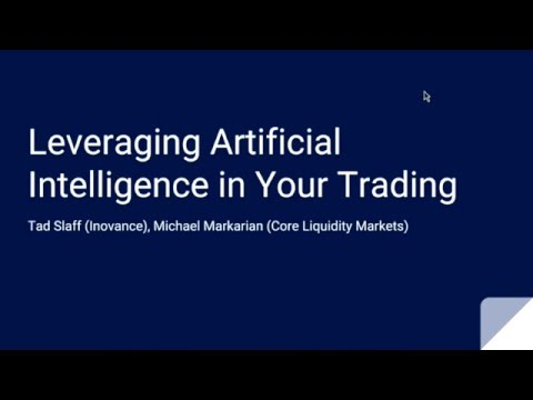 Leveraging Artificial Intelligence In Your Trading