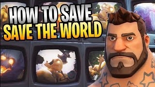 How To Save SAVE THE WORLD? Top Community Suggestions And Requests
