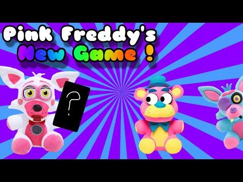 FNaF Plush: Pink Freddy's New Game !