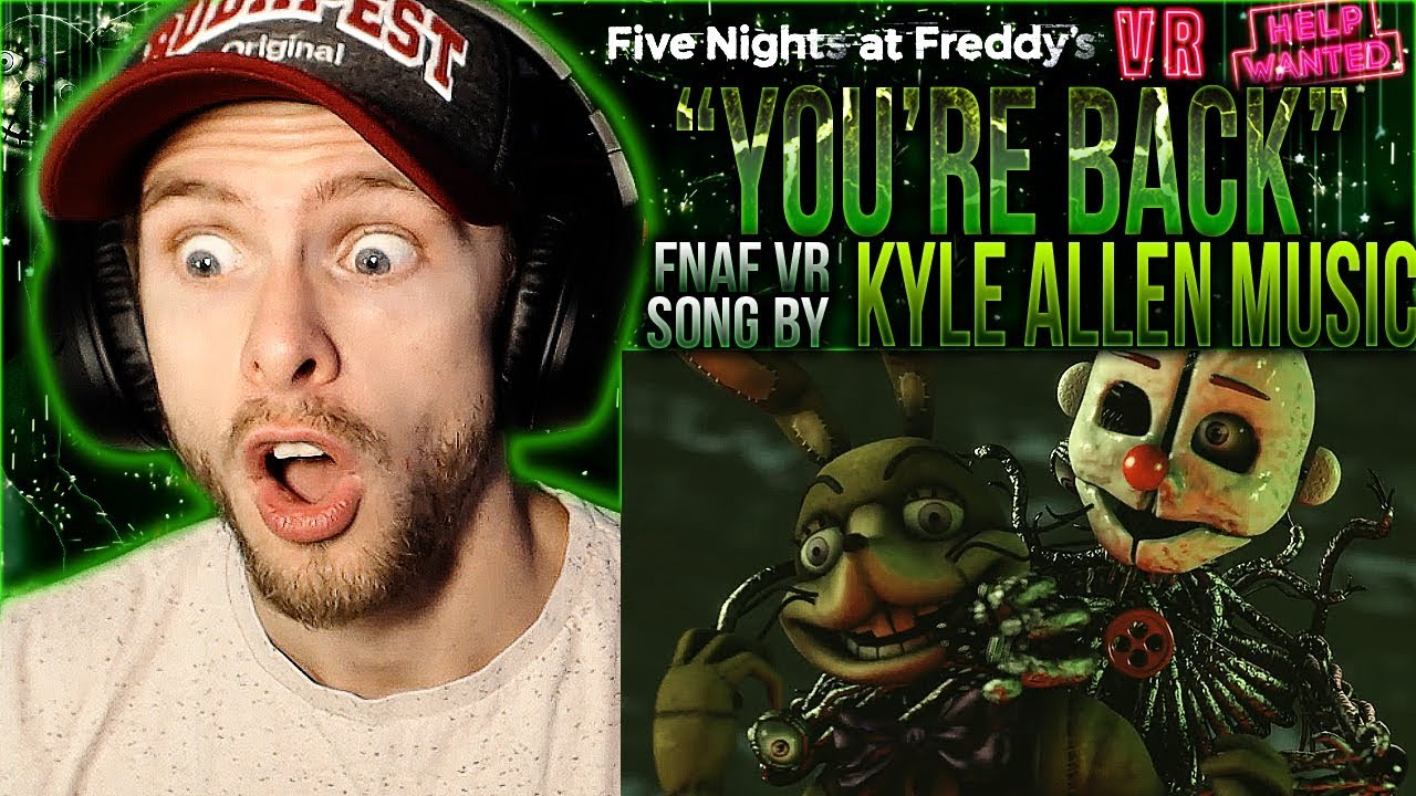 Vapor Reacts #906 | [FNAF SFM] FNAF VR HELP WANTED SONG ...