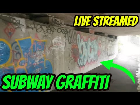 Subway Underpass Cleaning/Graffiti Removal