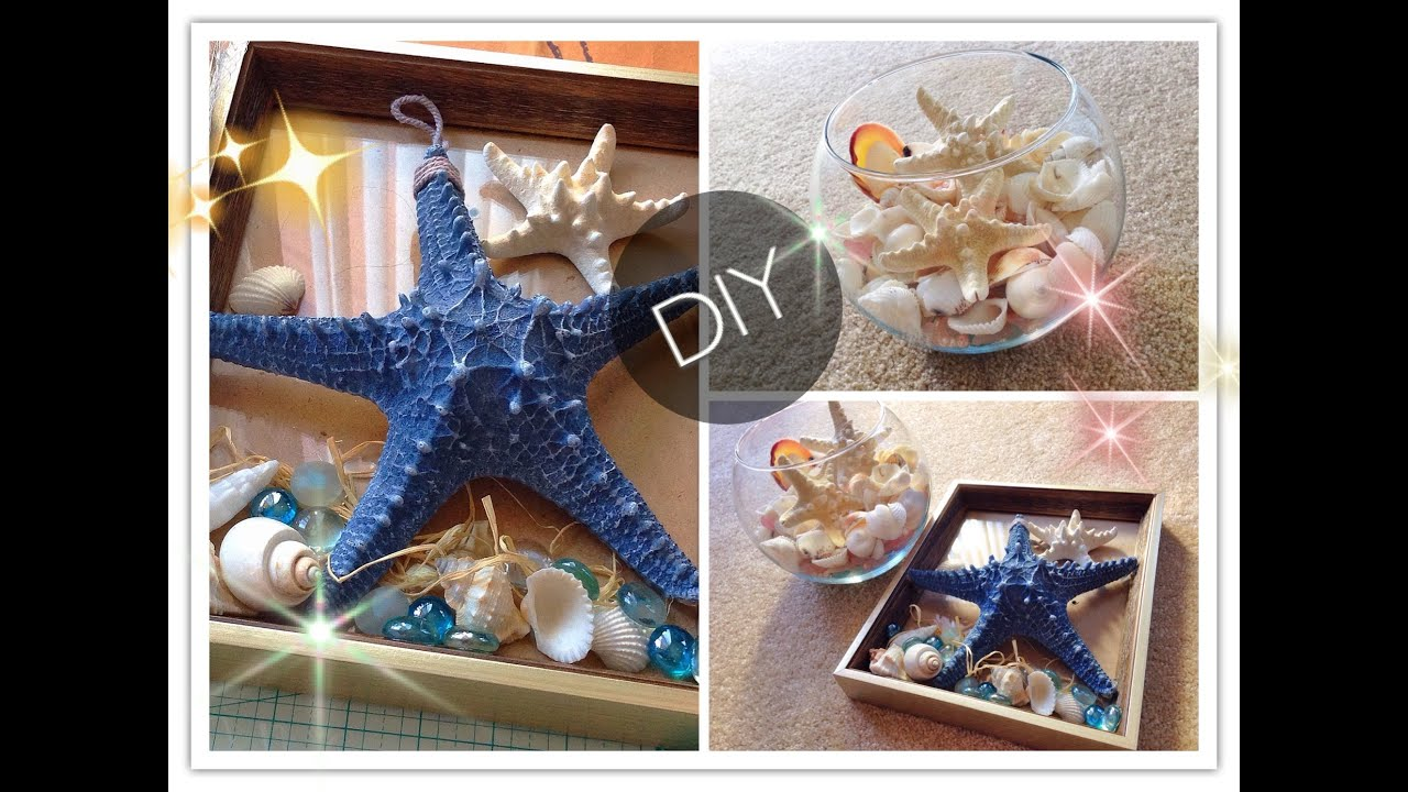 Diy 39 The Beach 39 Home Decor 2014 Youtube