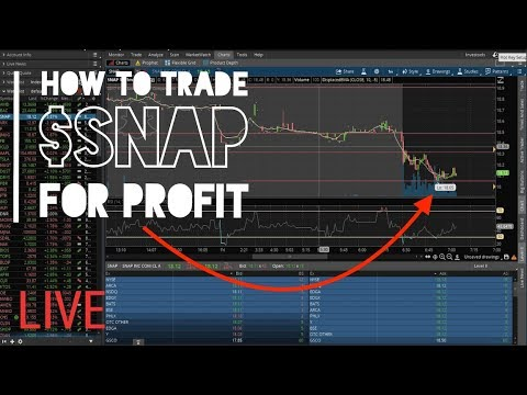 Live Trading | Techbud Solutions Pre-Market Hours Analysis $SNAP