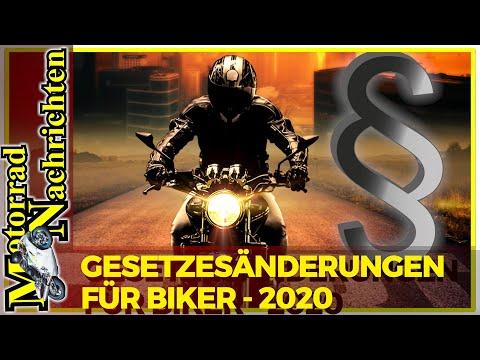 Gesetzesänderungen für Motorradfahrer