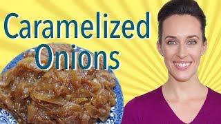 How to Caramelize Onions Demo- Michael Ruhlman Recipe