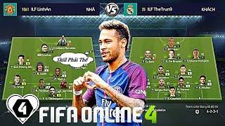 FIFA ONLINE 4 | BÁN KẾT I LOVE FIFA MỞ RỘNG | Thế Trung Vs Đăng Ngọc: Neymar TỎA SÁNG Vs SKILL ĐỈNH