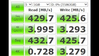 RAID 0  Seagate Barracuda Speed Test