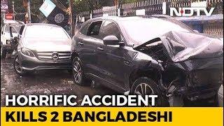 Speeding Jaguar Hits Mercedes In Kolkata, Kills 2 Bangladeshi Bystanders