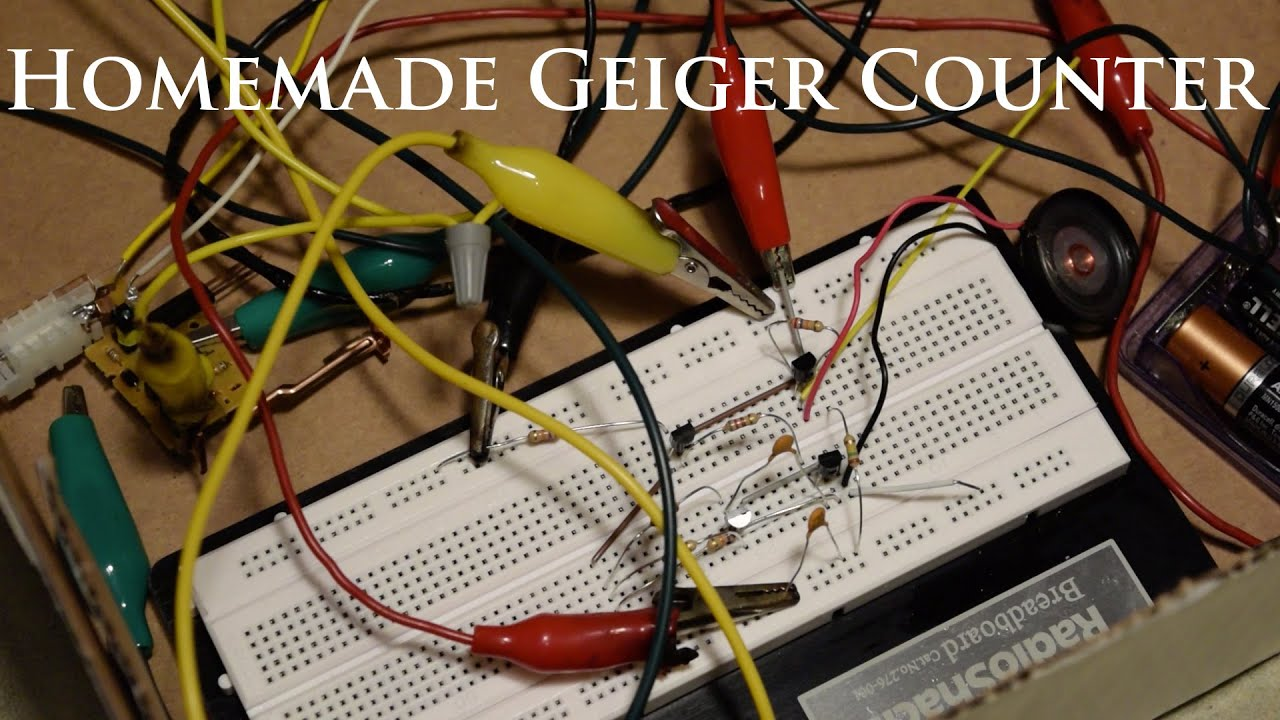 Geiger Counter Diagram Amateur Geiger Counter