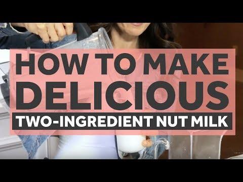Homemade Nut Milk | Keri Glassman