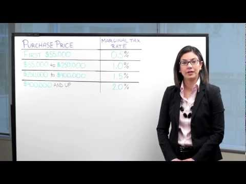 How to Calculate Land Transfer Tax - Mortgage Math #6 with RateHub.ca