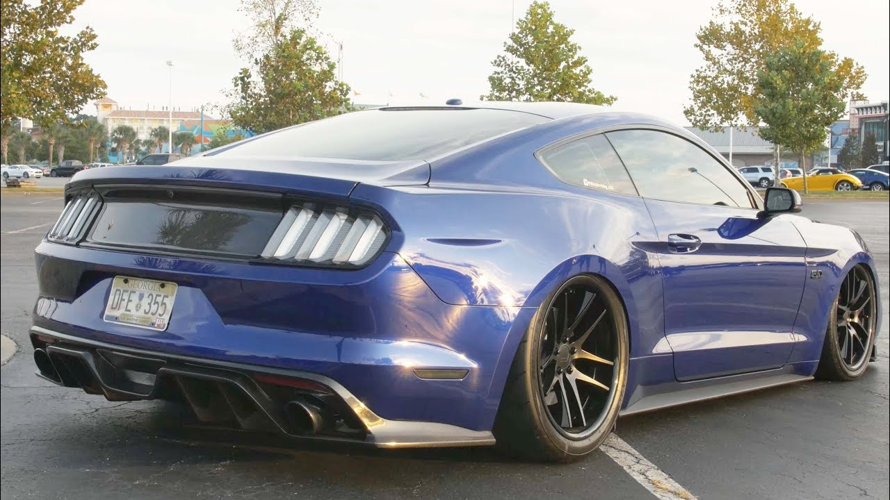 700HP Supercharged And Bagged Mustang GT Review!