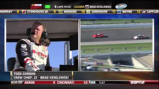 NASCAR Nationwide Series 2011 - Chicagoland Dollar General 300 (Finish)