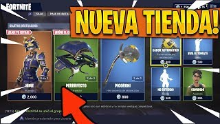 PLAYING WITH THE NEW SKIN *HIME* in Fortnite - NEW STORE!