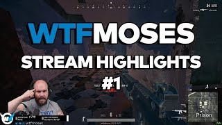 wtfmoses PUBG Highlights/Funny Moments #1 - Playerunknown's Battlegrounds Gameplay