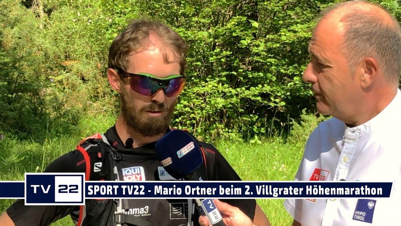 SPORT TV22: Mario Ortner startet beim 2. Villgrater Berge Höhenmarathon Marsch 2020